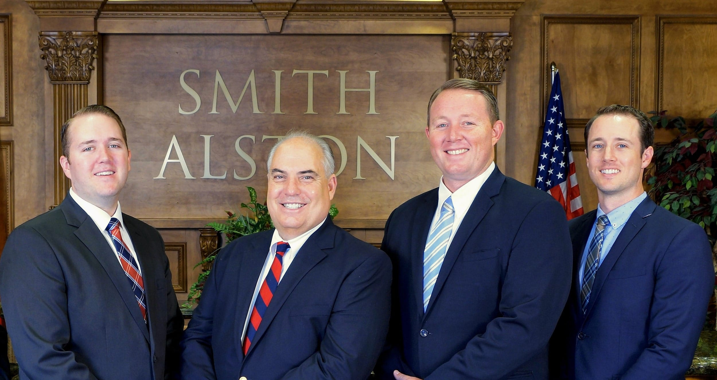 The entire team of the Smith Alston law firm